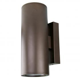 8 Quot Integrated Led Cylinder Up Down Wall Mount Contech