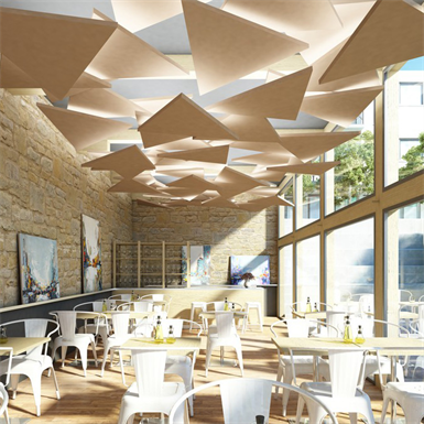 Rockfon eclipse triangle rockfon free bim object for for Rockfon faux plafond
