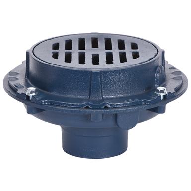 Z508 9 Diameter Top Extra Heavy Duty Drain Zurn Industries Free Bim Object For Revit Revit Revit Bimobject