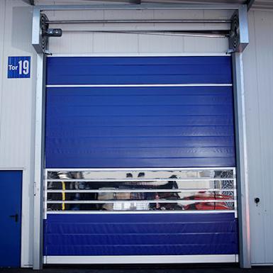 HIGH-SPEED TURBO ROLL-UP DOORS STR® (EFAFLEX) | Free BIM object for