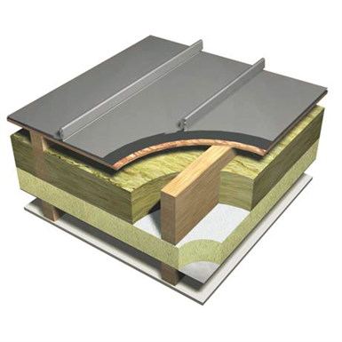 Catnic Ssr2 Cold Roof Standing Seam Roof And Wall