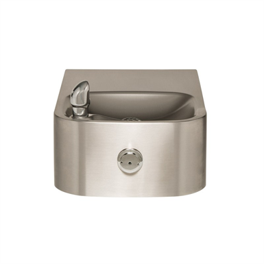 MODEL 1109, SINGLE BUBBLER, WALL MOUNTED DRINKING FOUNTAIN (Haws ...