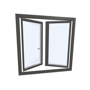 Window double upvc alu internorm kf310 model 5 internorm for Internorm fenster