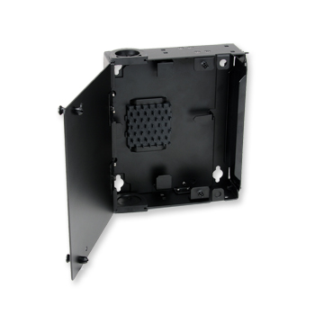 Single Panel Housing Wall Mountable Holds 1 Cch Connector