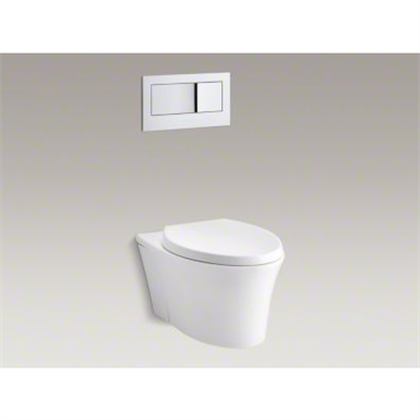K 6303 Veil One Piece Elongated Dual Flush Wall Hung Toilet