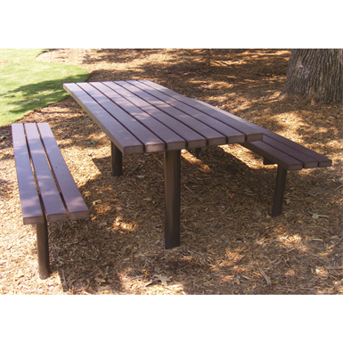 Magnificent Avondale Picnic Table 6Ft Sitescapes Inc Free Bim Squirreltailoven Fun Painted Chair Ideas Images Squirreltailovenorg