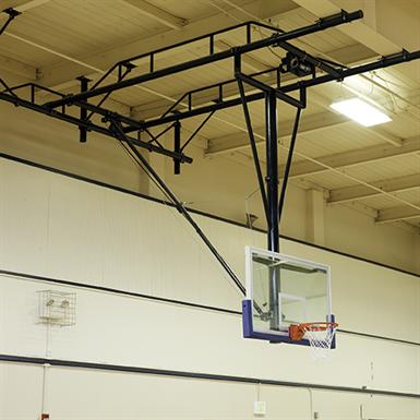 ard folding basketball backstop - 385×385