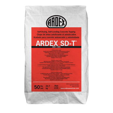 ARDEX SD-T® ​Self-Drying, Self-Leveling Concrete Topping ​​​​​​​​​​​​​​