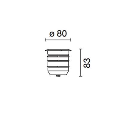 LIGHT UP ORBIT ?80MM OPTIC WALL WASHER (iGuzzini) Free BIM object for Revit BIMobject