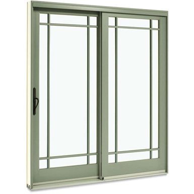 Integrity Wood Ultrex Sliding French Door Integrity From Marvin