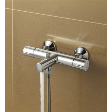 JULY - THERMOSTATIC SINGLE-LEVER WALL-MOUNT BATH-SHOWER MIXER (Jacob ...