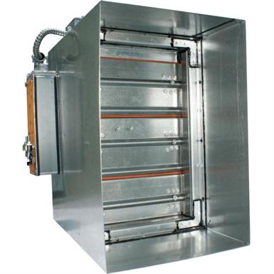 Series 10 combination fire smoke damper aire for Motorized smoke fire damper