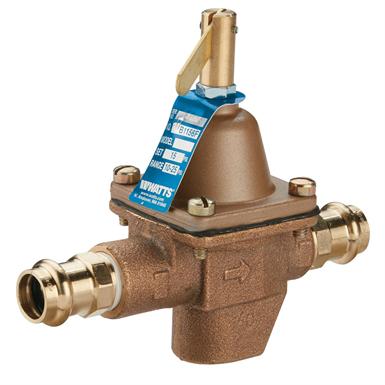 HIGH CAPACITY FEED WATER PRESSURE REGULATORS - 1156F, 1156F