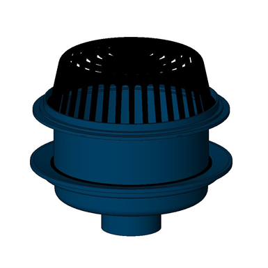 Z100 E 15 Quot Diameter Main Roof Drain With Extension Zurn