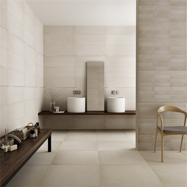 Collection Uptown Colour Beige Wall Tiles Keraben Free