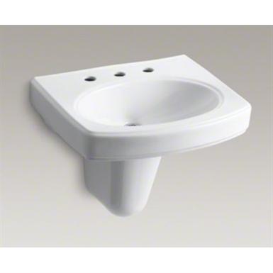 K 2035 8 Pinoir 174 Wall Mount Bathroom Sink With 8