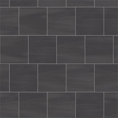 Mosa Solids Graphite Black Floor Tile Surface Mosa