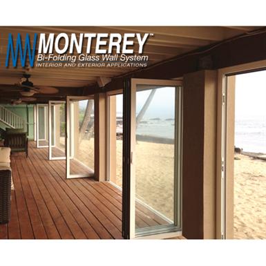Monterey Bi Folding Glass Wall System C R Laurence U S