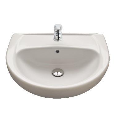 Lavabo Gala Elia.Elia Semi Recessed Wash Basin 550x455 Gala Free Bim