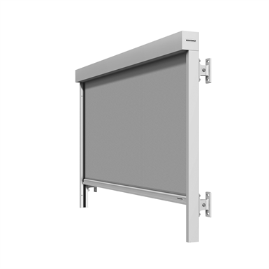 WINDOW AWNING WITH ZIP GUIDANCE (WAREMA ) | Free BIM object
