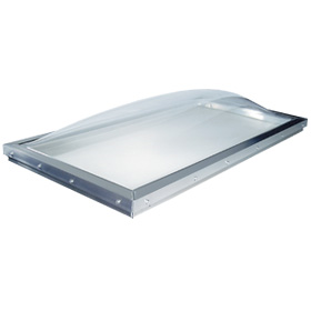 Commercial Custom Size Curb Mount Domed Skylight Ct Cs