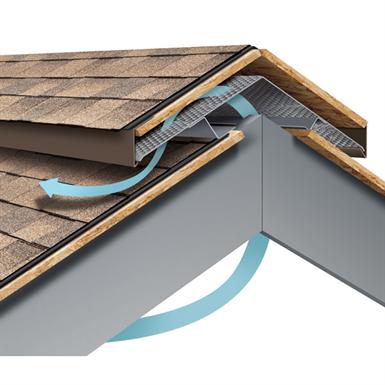 Roof Vent Hi Perf Ridge Vent Field Roofed Version Metal