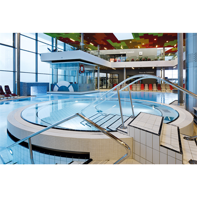 Swimming pool edge system wiesbaden agrob buchtal free bim object for archicad revit for Show java pool size
