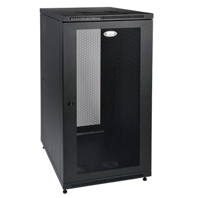 SmartRack 24U Mid Depth Rack Enclosure Cabinet