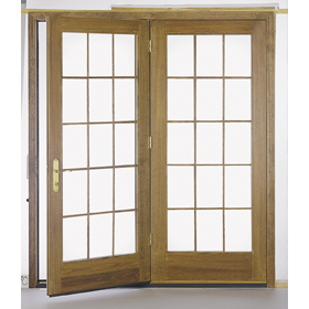 Proline 174 In Swing Door Clad Exterior French Double
