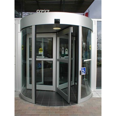 Clearflow Series 9540 Manual All Glass Revolving Door System