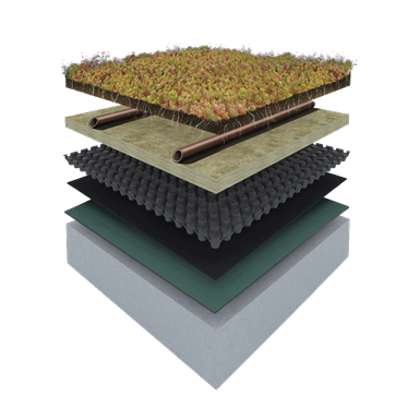 ES GREEN ROOF SYSTEM URBANSCAPE (Knauf Insulation) | Free