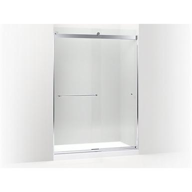 K 706168 Levity Sliding Shower Door 82 H X 56 58 59 58 W