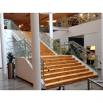 Nordic Railing Top Mounted Staircase