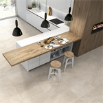 Collection Brancato colour Beige Floor Tiles