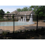Montage Plus PPP® Residential Steel Fence
