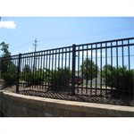 Echelon II®Industrial Ornamental Aluminum Fence