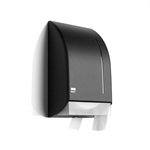 Satino Black jumbo toiletpaper dispenser