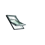 Roto centre-pivot roof window Designo R4 PVC