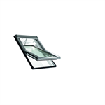 Roto centre-pivot roof window Designo R4 PVC Tronic