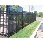 Aegis Plus® Light Commercial Ornamental Steel Fence