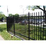Aegis II®Industrial & High Security Ornamental Steel Fence