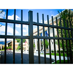 Montage II®Industrial & High Security Ornamental Steel Fence