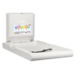 cambrino vertical baby changing table camb20vp