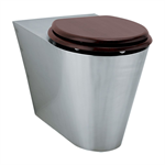 71700 presto floor standing wc toilet pan - front mounting lvl0
