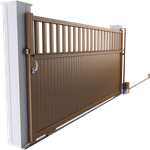 harmony line - oslo sliding gate model