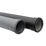 Single socket pipe for sanitary systems