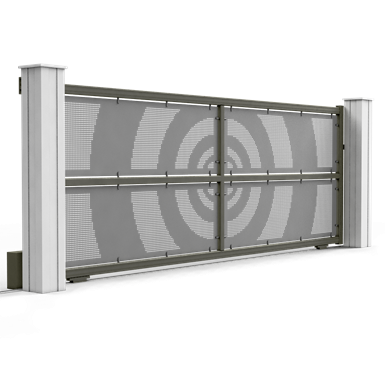 cible sliding gate