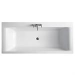alto 170x75cm bath double ended no tapholes