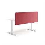 silencio - acoustic screen antibacterial for individual desk