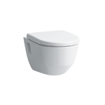 LAUFEN PRO 820964 Wall-hung WC 'rimless', washdown, without flushing rim